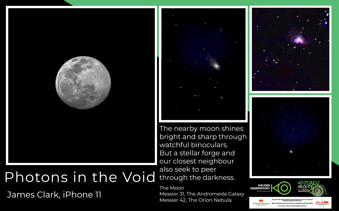 James Clark, Photons in the Void