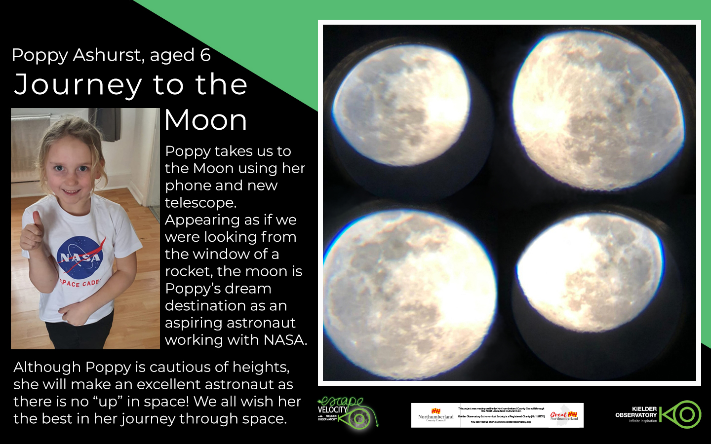 Poppy Ashurst, Journey to the Moon