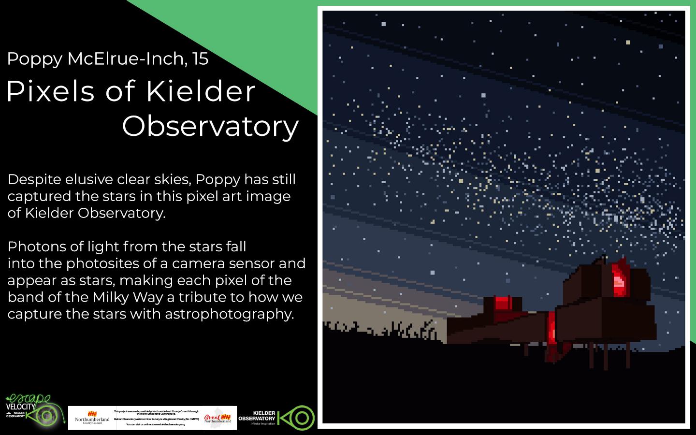 Poppy McElrue-Inch, Pixels of Kielder Observatory